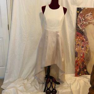 Eliza J dress white/Champagne